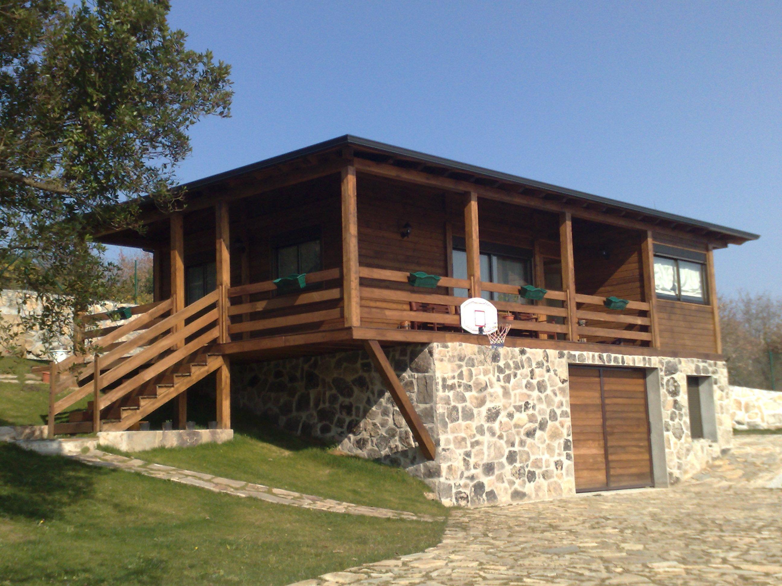 Casas de madera bungalows caba as - Bungalows de madera prefabricadas precios ...